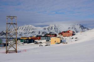 Longyearbyen im April