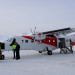 Dornier D228 on the airfield of Ny-Alesund