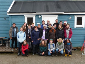 Students from the University of Kiel and the University of Bremen