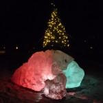 Der Dorfweihnachtsbaum