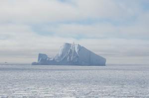 Eisberg im Meereis der nördlichen Weddellsee. Foto: Jan Nasse