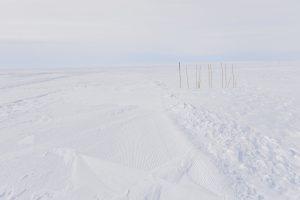 Der Skiway an Neumayer: Foto: Linda Duncker