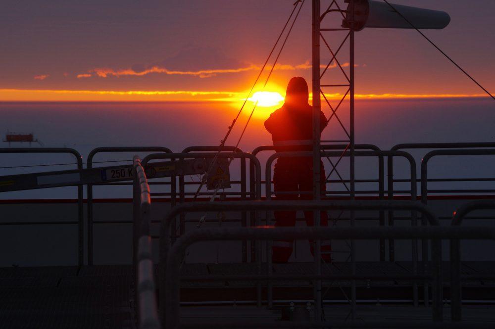 Gut macht sie das, die Sonne. Obwohl sie schon mehr als acht Wochen aus der Übung ist. Foto: Tim Heitland