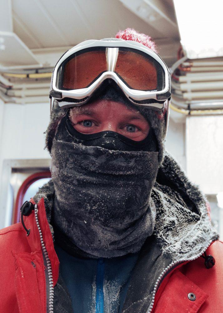 Stationsleiter Tim Heitland. Foto: Zsófia Jurányi
