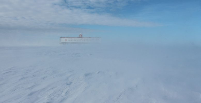 Neumayer-Station III am 03. April 2018