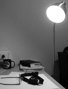 Künstliche Innenbeleuchtung. Foto: Bernhard Gropp