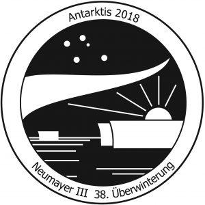 Logo des 38. Überwinterungsteams