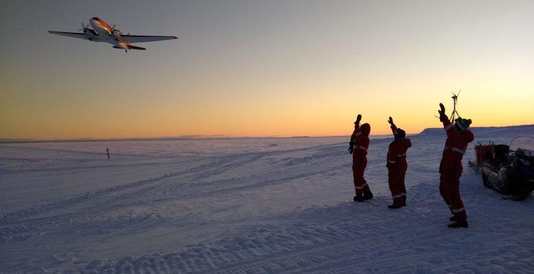 Abflug unserer kanadischen Freunde (Foto: Klaus Guba)