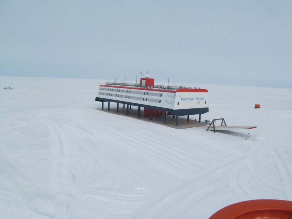 Neumayer Station III (Photo: Mario Beyer)