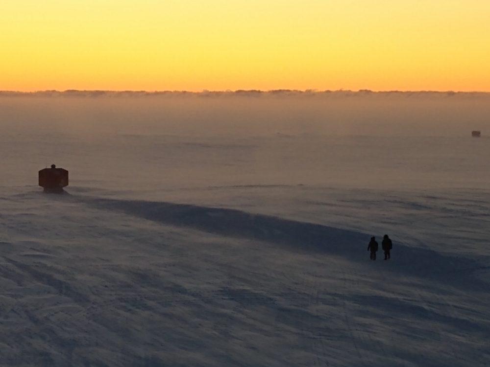Spaziergang bei Sonnenuntergang (Klaus Guba)