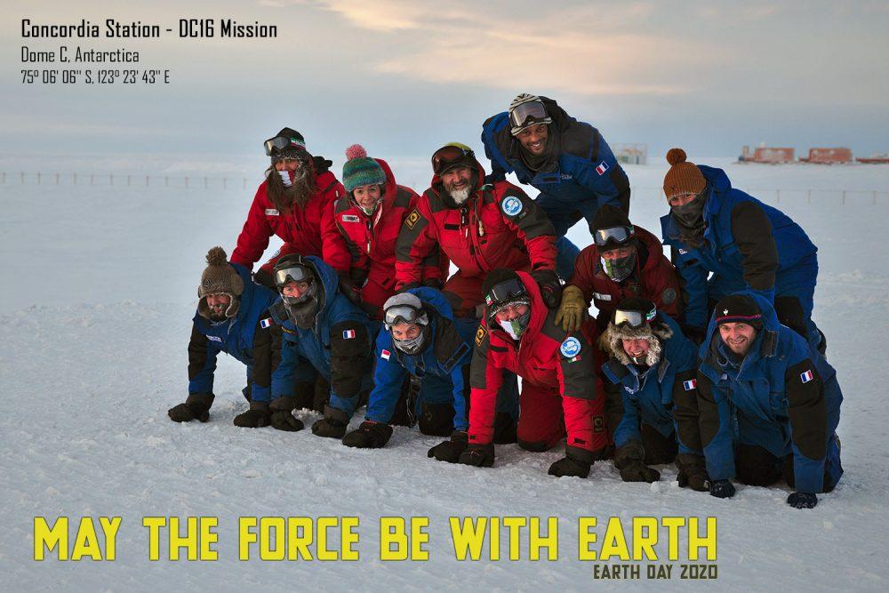 Earth Day an der französisch-italienischen Station Concordia