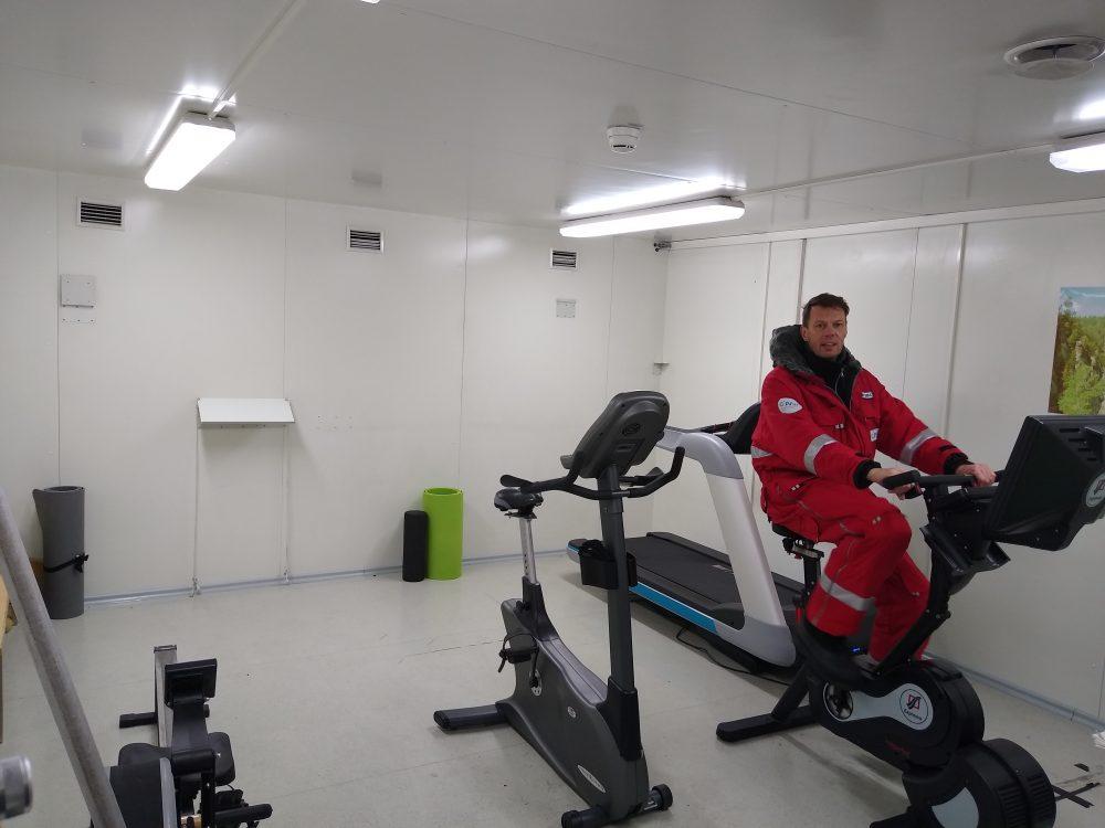 Fitnessraum (Foto: Andreas Oblender)