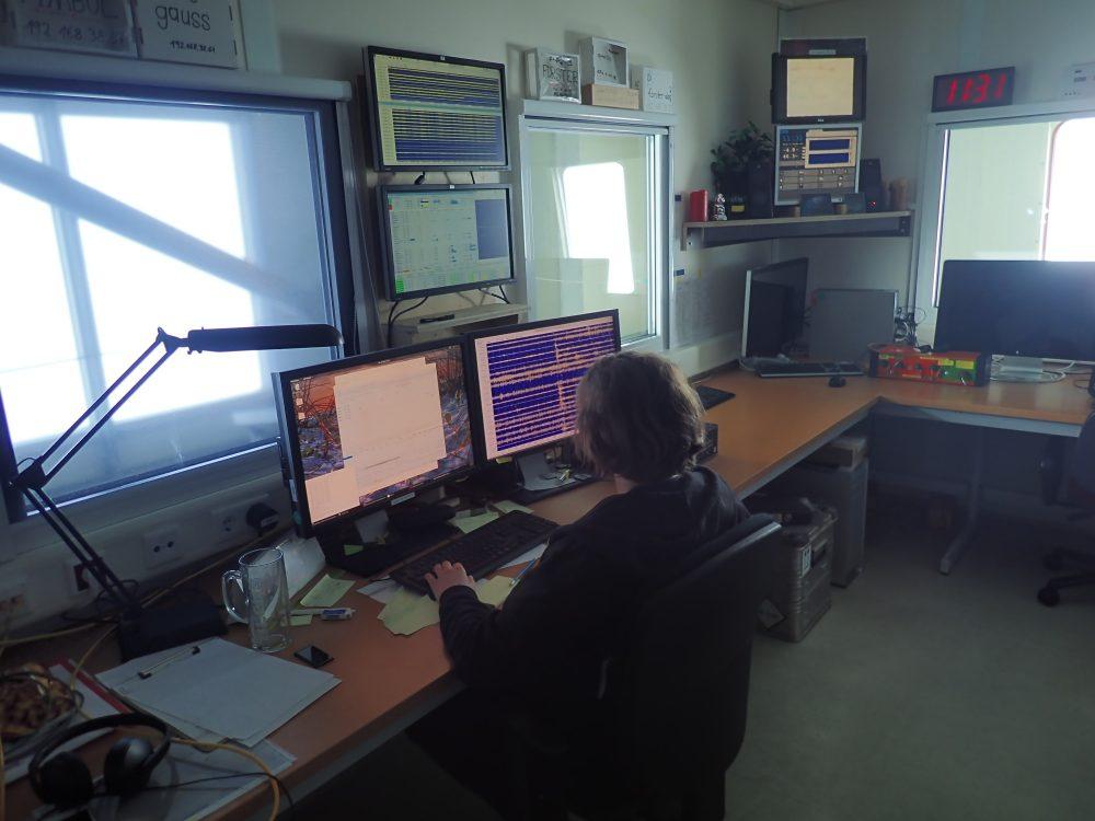 Ina Wehner im Büro