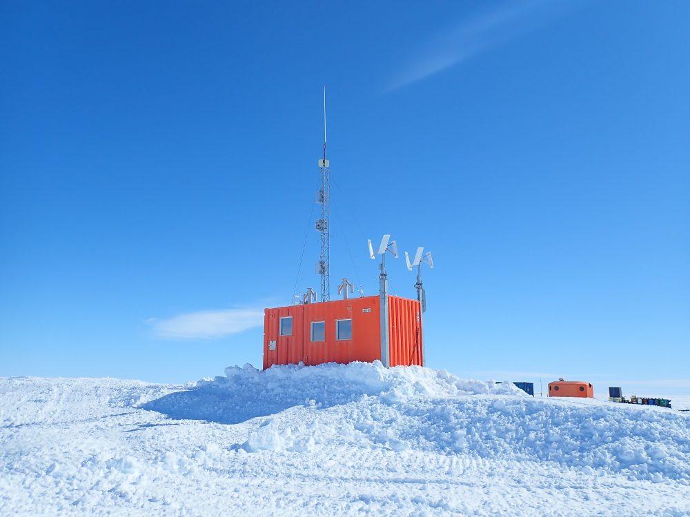 Außenstation in der Antarktis