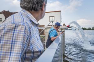 Hochwasser 2013. Bild: UFZ/André Künzelmann