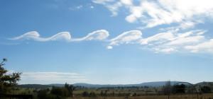 Kelvin-Helmholtz-Instabilität. Bild: GRAHAMUK (CC-BY-SA 3.0))