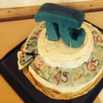 Pi-Torte der Klasse 8 c vom Geschwister-Scholl-Gymnasium Fürstenwalde
