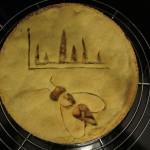 Mareike Wurdack: Gas-Chromatogramm-Pie mit Wespe, Bild: CC-BY 4.0