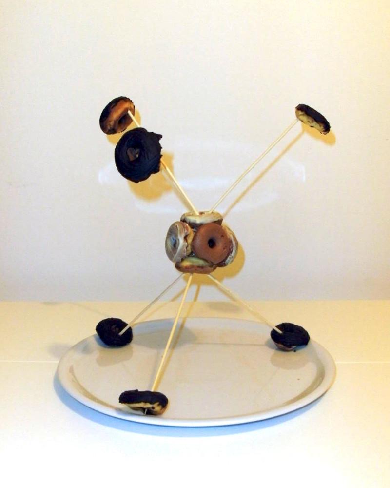 Das Donut-Atommodell von Anna Scheurer, Bild: CC-BY 4.0 ...  Das Donut-Atomm...