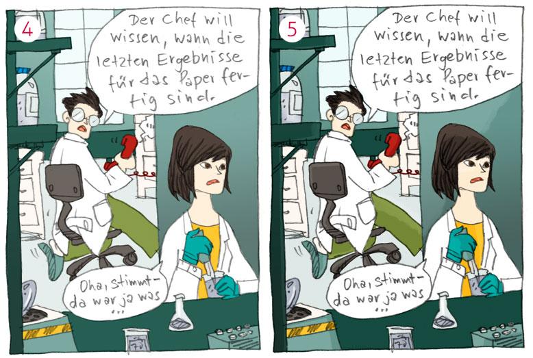 making of Helmholtz-Wissenschaftscomic 03| Bild: Veronika Mischitz/Helmholtz-Gemeinschaft, CC-BY-ND 3.0