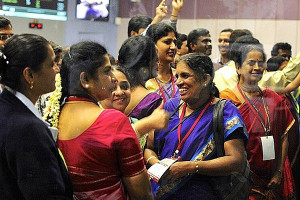 Indiens erste Marsmission erfolgreich angekommen