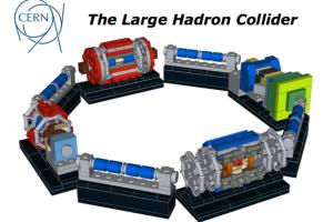 Das LHC in Lego - vielleicht schon bald zu kaufen? Bild: Lego.