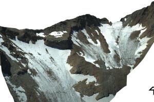 3D-Modell des Mount Everest. Bild: DLR, CC-BY 3.0