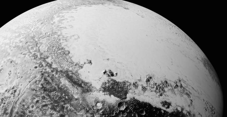 Neue Bilder der New Horizons-Sonde vom Pluto. Bild: NASA/Johns Hopkins University Applied Physics Laboratory/Southwest Research Institute