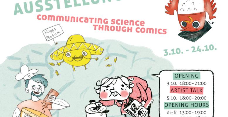 Comic-Ausstellung im Oktober 2015 in Berlin. Bild: Veronika Mischitz/Maki Shimizu
