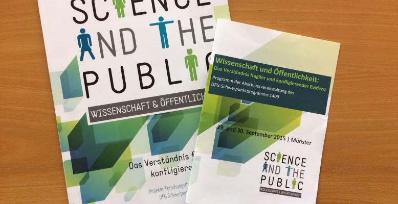 Wissenschaft und Öffentlichkeit – Das Verständnis fragiler und konfligierender Evidenz. Bild: Helmholtz