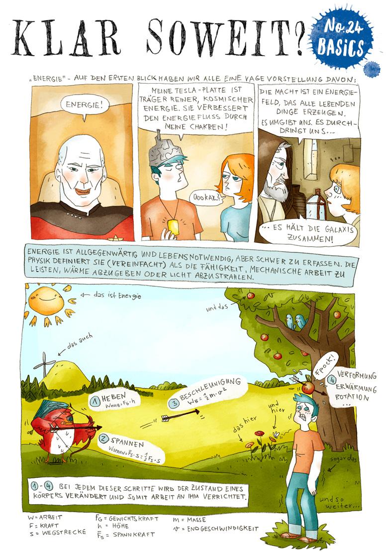 Helmholtz-Wissenschaftscomic No.24 Seite 1