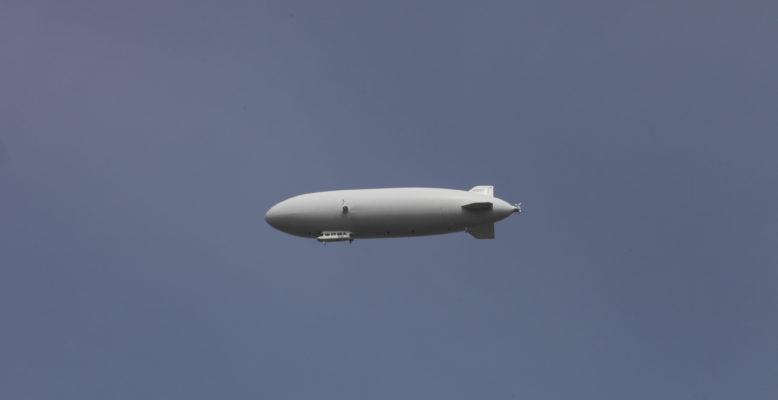"""ScienceTweetup: Expedition """"Uhrwerk Ozean"""" mit Zeppelin-Flug im Juni 2016 auf Usedom. Bild: HZG"""