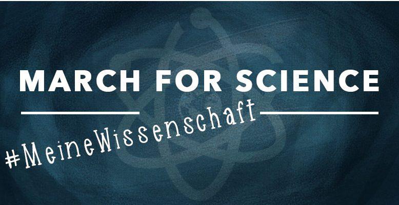 """Am 22. April 2017 findet der weltweite """"March for Science"""" statt. Bild: Veronika Mischitz"""