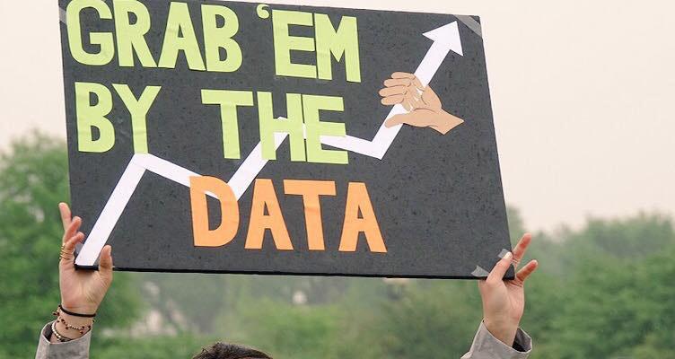 Science March in den USA mit einer Anspielung auf eine Spruch von Donald Trump. Bild: Riff Reporter / Christian Schwägerl.