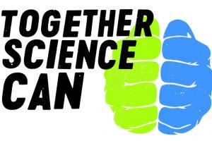 Zwei Fäuste für ein Gehirn: Togehter Science Can ... Bild: Wellcome Trust