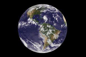 Die Erde vom Satelliten aus gesehen. Bild: NASA