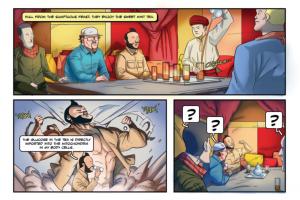 The AGYA Science Jinn - ein Comic auf Grundlage einer Forschungsarbeit des UFZ