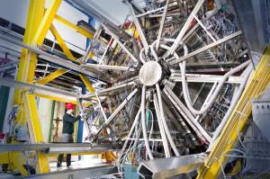 Der HADES-Detektor. Bild: GSI