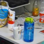 Chips, Kekse und die FAIR-Tasse dürfen nicht fehlen. Bild: GSI