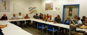 Die Mittagssitzung. Bild: GSI