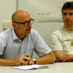 Uwe Scheeler (l.) und Michael Traxler (r.). Bild: GSI