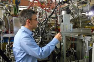 Experimentleiter Michael Block. Bild: GSI