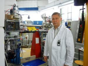 Untersucht Element 114: Projektleiter Alexander Yakushev. Foto: Lena Weitz, GSI