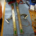 Spannende Frage: Wird die Goldfläche das Flerovium-Atom abfangen? Foto: GSI