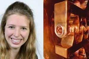 Mithilfe des Teilchenbeschleunigers UNILAC können die toplogischen Isolatoren hergestellt werden, die Janina Krieg untersucht. Foto: G. Otto/GSI