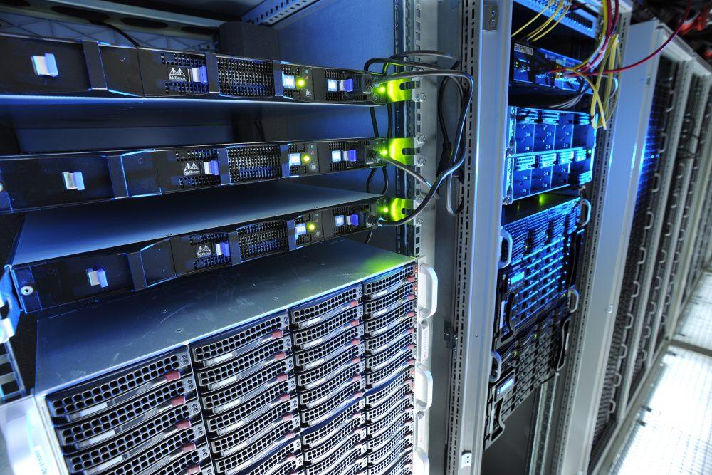 GSI-Rechenzentrum Green IT Cube.