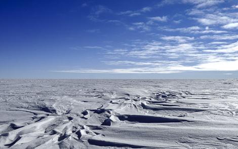 Endlose Weite der Antarktis