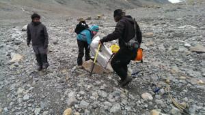 Glaziologie trifft Geologie am Ende des Eises