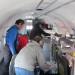 Das Bild zeigt die Polar 6-Kabine während des Testfluges. Foto: Alfred-Wegener-Institut