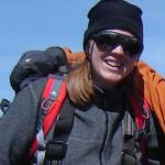AWI-Glaziologin Dr. Daniela Jansen - hier bei einer Expedition in ihr Forschungsgebiet. Foto: AWI